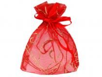 Organza Gift bag 65x90 mm with glitters