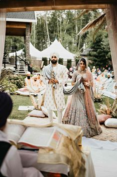 Outdoor Indian Wedding, Sikh Wedding, Punjabi Wedding, Wedding Goals, Wedding Pics, Wedding Day, Wedding Outfits, Wedding Dresses, Sikh Bride