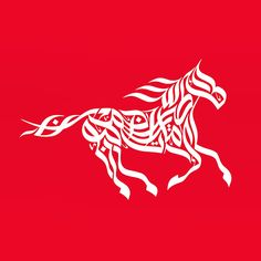 Wissam Shawkat - calligraphy design for Emirates airlines - Emirates Airlines Melbourne cup.