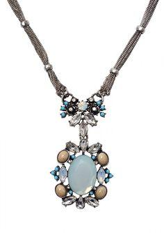 Antique Inspired Multi Chain Statement Necklace 24,90€ #happinessbtq