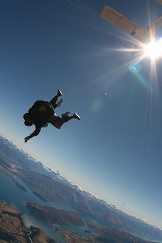 Skydiving I can scratch this one of the list.....loved skydiving, if u havent done this u need to