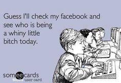 LOL! It's someone everyday!
