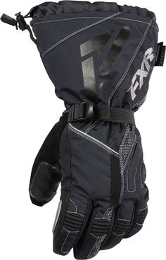 47822c2118c FXR Racing - 2015 Snowmobile Apparel - Men s Adrenaline Glove - Black