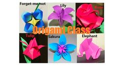 A personal favorite from my Etsy shop https://www.etsy.com/listing/478478451/origami-craft-class-origami-flowers-rose