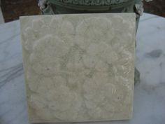 antique majolica tile art noveau tile  fireplace by funknjunkinc