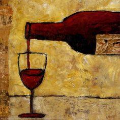Arte com vinhos