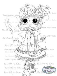 INSTANT DOWNLOAD Digital Digi Stamps Big Eye Big Head Dolls Digi  My Besties Mothers Pearls Daddys ShoesBy Sherri Baldy by SherriBaldy on Etsy https://www.etsy.com/listing/186723863/instant-download-digital-digi-stamps-big