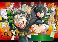 manga Black Clover 052 online in high quality
