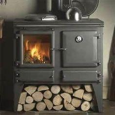 wood burning stove. need this tonight!