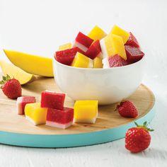 Jujubes aux fruits et yogourt - 5 ingredients 15 minutes Roulade De Porc, Jujube Fruit, Dessert Aux Fruits, Fruit Salad, Finger Foods, Food Inspiration, Kids Meals, Yummy Treats, Meal Planning