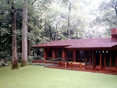 images of Frank Lloyd Wright style homes | Where is Frank Lloyd Wright's Home Wooden Design