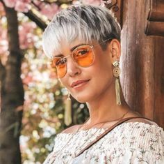 Short Hairstyles Madeleine Schön - 6 - New Make Up İdeas Girls Short Haircuts, Haircuts For Fine Hair, Hairstyles Haircuts, Summer Hairstyles, Short Grey Hair, Short Hair Cuts For Women, Choppy Hair, Pelo Pixie, Shot Hair Styles