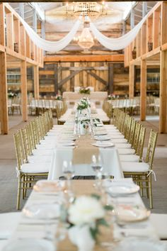 Wedding Tables | See more of this Rustic Elegance wedding on #SMP: http://www.stylemepretty.com/2013/12/16/sky-ridge-ranch-wedding/ Cluney Photo