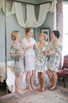#robes Photography by carolinejoy.com  Read more - http://www.stylemepretty.com/2013/08/13/austin-wedding-from-the-nouveau-romantics-caroline-joy-photography/