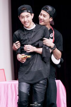 #GOT7 #fighting! (: Markson. (: aaww. to cuute. my loves. Jackson before anyone or anything. <3 <3 ily. keep on smiling. (: