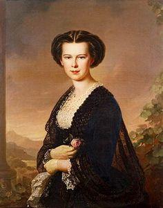L'imperatrice #Sissi nel 1856