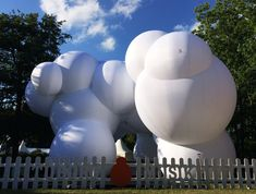 """BIG has revealed images of a huge """"bubble-like"""" inflatable pavilion it created for this year's edition of the annual music festival in Roskilde, Denmark National Building Museum, Temporary Structures, Big Bubbles, Kensington London, Bouncy Castle, Festival 2016, Aarhus, Art Fair, Public Art"""