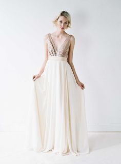Truvelle I like this style for bridesmaids dresses