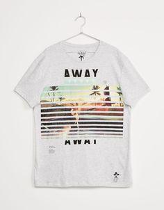 "T-shirt ""Stride/ Free Style Jump"" - New - Bershka Portugal"