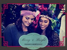 Tara and Brooke think you should stock up on headbands for the holidays! These are just $14.99! Come see us, we're here until 8 tonight   www.fragrancesunlimited.net