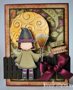 Little Witchy by jennypete - Cards and Paper Crafts at Splitcoaststampers