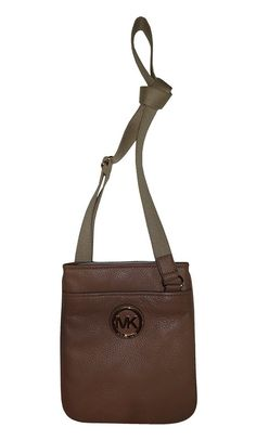 Michael Kors Fulton Leather Crossbody Dark Khaki    Details can be found by  clicking on the image. (This is an affiliate link) 0 41a28d06f7d75