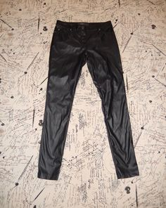 LIP SERVICE Patent Vinyl And Vegi Leather Classics pants #38-463