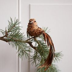 Pinecone Bird Ornament
