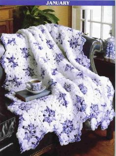 Image detail for -... Crochet A Year Of Q Hook Afghans Twelve Patterns - Afghan Patterns