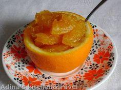 Dulceata de portocale, Rețetă de Toamna07 - Petitchef Mousse, Romanian Food, Gordon Ramsay, Preserving Food, Grapefruit, Preserves, Cantaloupe, Deserts, Good Food