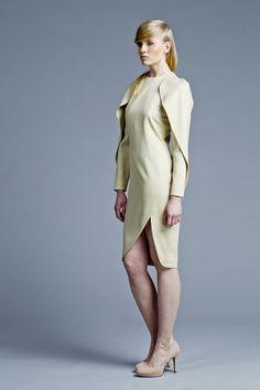 Sculptural, minimal fashion, Boska by Eliza Borkowska Look Book A/W 2013/14 Model: Magda Roman Photos: Ewelina Petryka & Krystian Szczęsny Make up: Klaudia Majewska