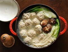 塩にんにく出汁の鶏だんご鍋|レシピブログ