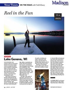 This is a tear sheet of my photographs and an article I wrote for the July 2008 edition of Madison Magazine.    web site ▪ blog ▪ facebook ▪ twitter ▪ youtube ▪ e-mail    © 2008 Todd Klassy      More info http://lulu16.hubpages.com