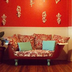 Bath tub sofa. although i feel like it looks cooler then it is comfortable.