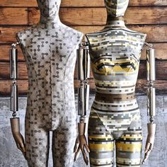 "SILVESTRI, Los Angeles, California, USA, ""Male/Female Puzzle Body Robotics"", pinned by Ton van der Veer"