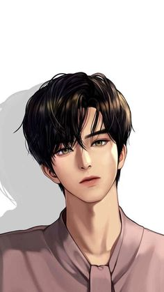 Anime Brownie brownies q salatiga Handsome Anime Guys, Cute Anime Guys, Anime Love, Boys Anime, Korean Anime, Korean Art, Anime Boy Zeichnung, Angel Wallpaper, Romantic Manga