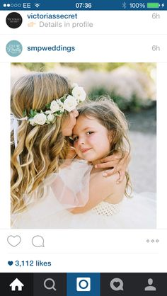 Gorgeous flower girls
