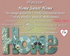Warsztat: Home Sweet Home.