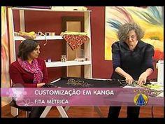 Com Darlene Nobre. Customização em Kanga  | Dicas de Costura do SABOR DE VIDA