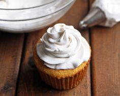 Light and fluffy frosting that is entirely dairy free! Find out how to make whipped coconut cream that is vegan, paleo friendly and clean eating.