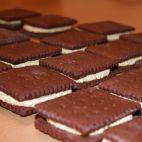 Princezky • recept • bonvivani.sk Ice Cream Candy, Cake Cookies, No Bake Cake, Christmas Cookies, Chocolate, Sweet, Desserts, Recipes, Food