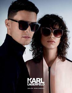 Karl Lagerfeld SS17  Ad Campaign   - Josephine Skriver, Mica Arganaraz and Baptiste Giabiconi - Karl Lagerfeld