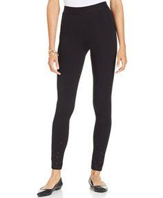Style&co. Sequin-Hem Leggings