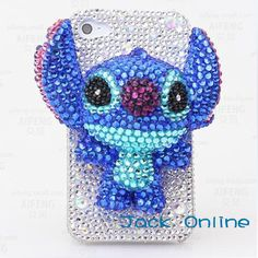3D Bling Stitch  iPhone Case,iPhone 4 Case iPhone 5 Case Samsung galaxy note 2 case-galaxy S3 Case,galaxy s4 case