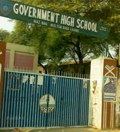 Govt High School (Gulberg 4), Lahore. (www.paktive.com/Govt-High-School-(Gulberg-4)_950SB13.html)