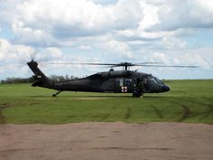 Sikorskly UH-60 Medivac Blackhawk Helicopter--I spent many nights sleeping on the litter in one of these.