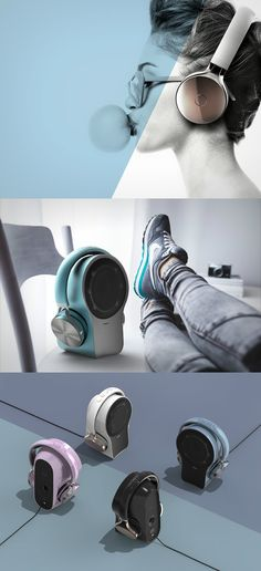 What's better than one audio device? A two-in-one! No?! Read more at Yanko Design                                                                                                                                                                                 Más