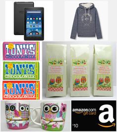 With Love for Books: Kindle Fire, Amazon Gift Card, Esprit Sweater, Ton...  http://www.withloveforbooks.com/2017/05/kindle-fire-amazon-gift-card-esprit.html