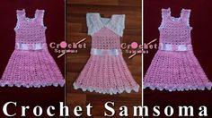 طريقة كروشيه فستان لاي مقاس      crochet baby dress    Crochet Dress Girl     crochet kids dress  كروشيه فستان صيفى سهل وبسيط لأى مقاس  طريقة كروشيه فستان بنوتة     كروشيه فستان  كروشيه  تعليم الكروشيه للمبتدئين بالفيديو تعلم الكروشيه Crochet Dress Girl, Girls Dresses, Summer Dresses, Crochet For Kids, Fashion, Dresses Of Girls, Moda, Summer Sundresses, Fashion Styles