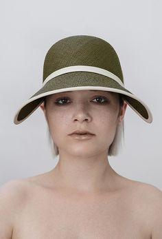 Benoit Foucher SS16 L'après-midi #millinery #benoitfoucher #hat #designer